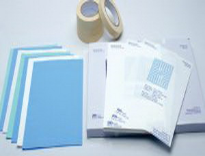 Medical nonwoven fabric, wrinkle paper, sterilizing tape